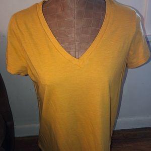 Mossimo yellow shirt